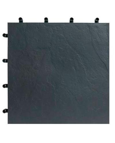 Loseta para terraza imitación pizarra negra