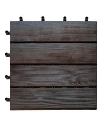 Loseta para terraza de color marrón
